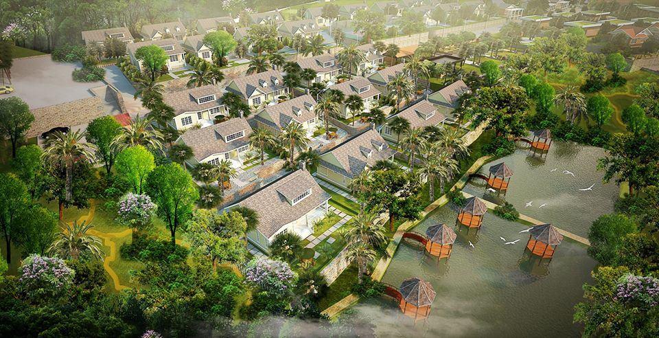 Phối cảnh Beverly Hill Lương Sơn Hòa Bình