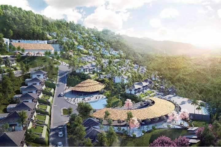 Sơ đồ Onsen Village Hòa bình
