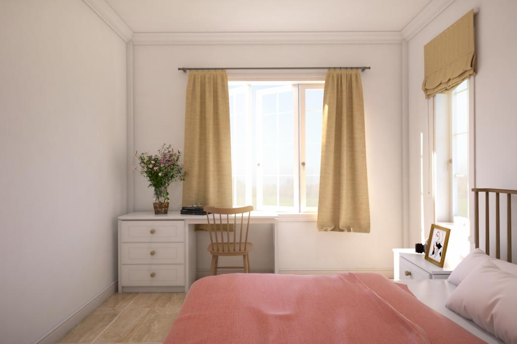 Phòng ngủ nhỏ tầng 1