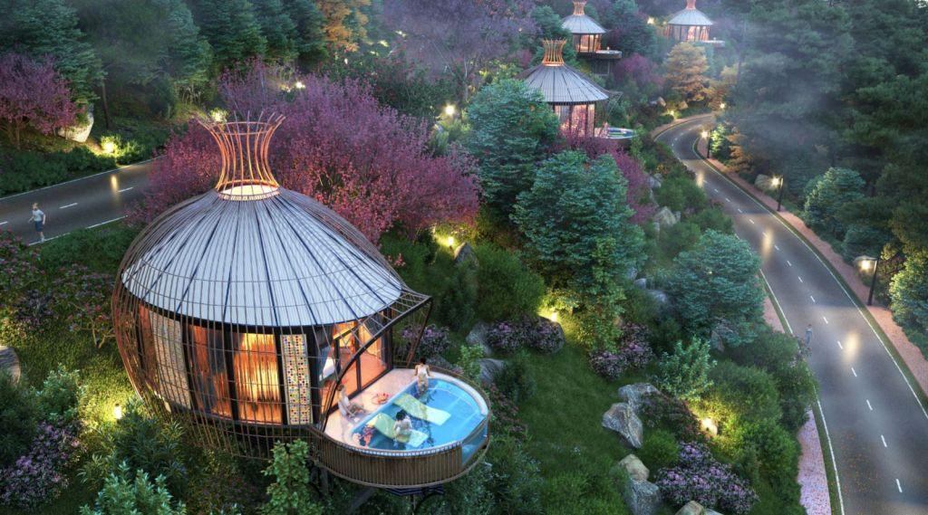 Biệt thự Sakana Resort tại Hòa Bình