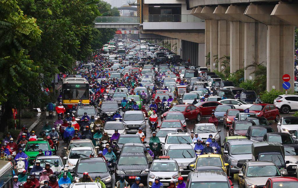 Môi trường ô nhiềm ngột ngạt tại Hà Nội đang ở mức báo động