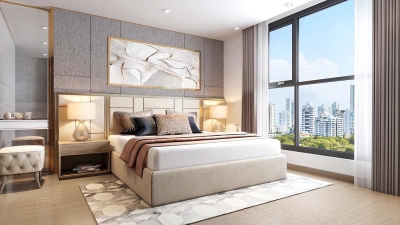 Phối cảnh phòng ngủ T&T DC Complex 120 Định Công